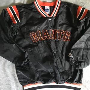 Youth MLB Giants pullover NWOT